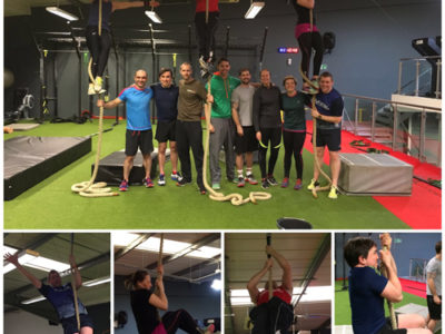 OCR Masters Rope Climb Group Pic