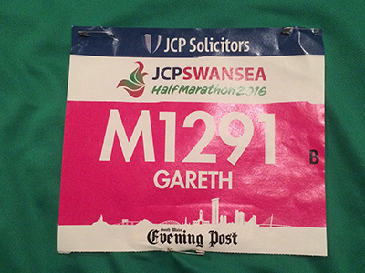 Swansea Half Name Badge