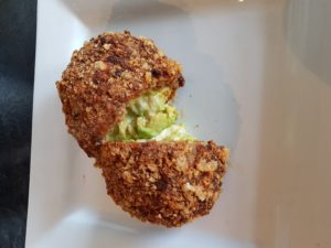 Keto Scotch Eggs Split