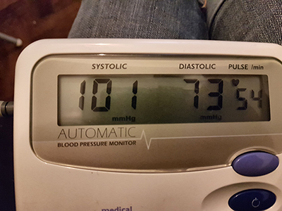 Blood Pressure On Week 2 of Keto